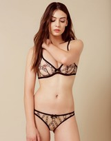 Agent Provocateur Bailey Thong Nude And Black