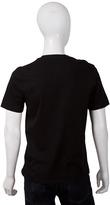 Velvet Paulson Jersey Vneck Tshirt in Black