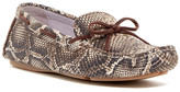 Johnston & Murphy Maggie Camp Snake-Embossed Moccasin - Multiple Widths Available