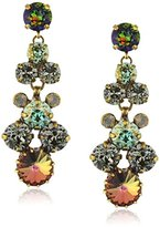 """Sorrelli Crystal Patina"""" Well-Rounded Crystal Drop Earrings"""