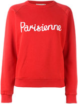 MAISON KITSUNÉ Parisienne sweatshirt - women - Cotton - M