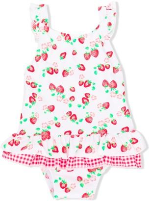 Sunuva Strawberry Print Swimsuit
