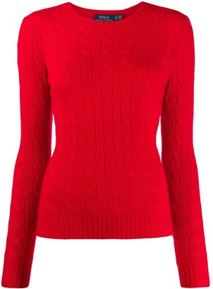 Polo Ralph Lauren cashmere cable knit jumper