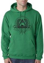 Cindy Apparel Leguminati Vegan Food Truck Healthy Funny Unisex Hoodie Pullover Sweat Shirt 2XL