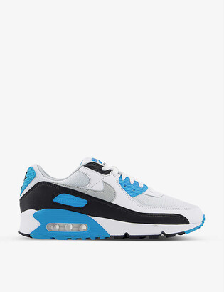 Nike Air Max III leather and textile trainers