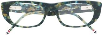 Thom Browne Eyewear Rectangular Frame Glasses