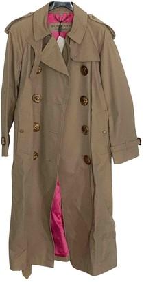 Burberry Beige Silk Trench Coat for Women