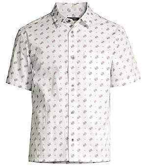 John Varvatos Men's Trent Short Sleeve Shirt