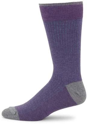Saks Fifth Avenue Stripe Tech Socks