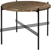 Gubi Marble Gamfratesi TS Side Table Medium - Marrone Emperador