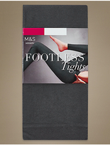 M&S Collection 60 Denier Cotton Rich Opaque Footless Tights