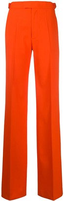 ATTICO High-Waisted Wide Leg Trousers