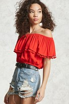 Forever 21 FOREVER 21+ Contemporary Off-the-Shoulder Top