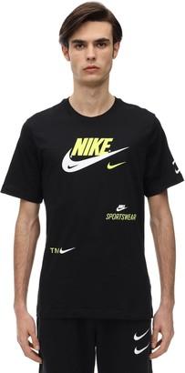 Nike Nsw Swoosh Cotton Jersey T-Shirt