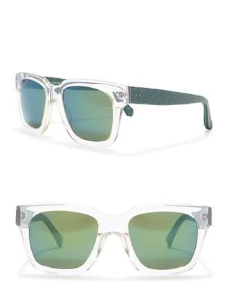 Linda Farrow 52mm Square Sunglasses