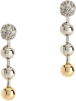Eddie Borgo Short Ball Chain Drop Earrings
