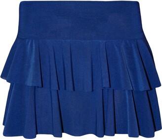 B&S Trendz B Womens Ladies RARA Mini Short Skirt Party Wear Fancy Dress Casual Summer Wear(Blue RARA Skirt SK8516#Small/Medium#Womens)