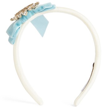 Lesy Embellished Bow Headband