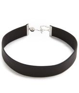 Jennifer Zeuner Jewelry Leather Choker Necklace