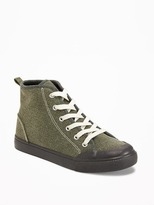 Old Navy Canvas Rubber-Toe High-Tops for Boys