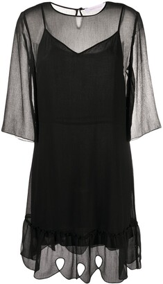 See by Chloe Layered Shift Dress