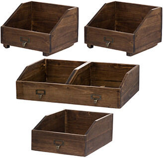 A&B Home Set Of 4 Amell Storage Boxes