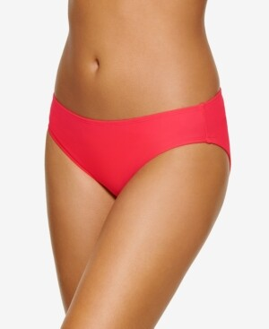 Hula Honey Juniors' Zig Zag Zinc Classic Hipster Bikini Bottoms, Created for Macy's Women's Swimsuit