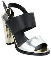 Kenneth Cole New York Susie Metallic Leather Sandals