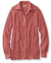 L.L. Bean Women's Cotton Waffle Sweater, Cardigan