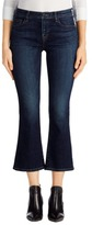 J Brand Selena Mid-Rise Cropped Boot Cut in Mesmeric