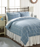 L.L. Bean Ultrasoft Comfort Flannel Comforter Cover, Windowpane