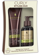 Macadamia Natural Oil Macadamia Curly Styling Duo - Taming Curl Cream and Nourishing Oil
