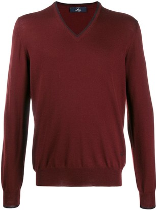 Fay Elbow Patch Pullover