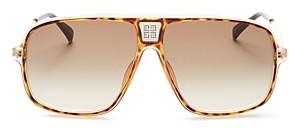 Givenchy Unisex Brow Bar Aviator Sunglasses, 61mm