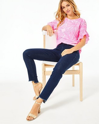 """Lilly Pulitzer 28"""" South Ocean Skinny Crop Pant"""