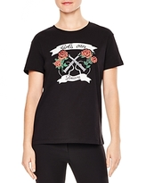 Sandro Cindy Girls Can Dream Graphic Tee