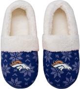 Unbranded Women's Denver Broncos Ugly Knit Moccasin Slippers