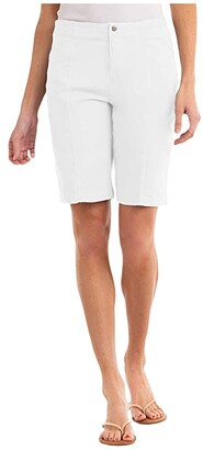Fresh Produce Cruiser Shorts in Stretch Broadcloth (White) Women's Shorts