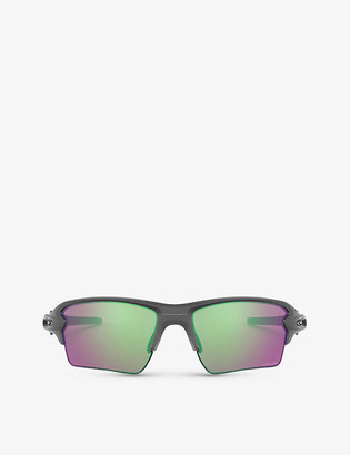 Oakley OO9188-F359 FlakTM 2.0 XL O MatterTM rectangular-framed sunglasses