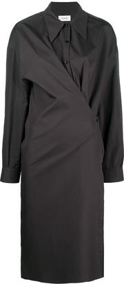 Lemaire Twisted Plain Shirt Dress
