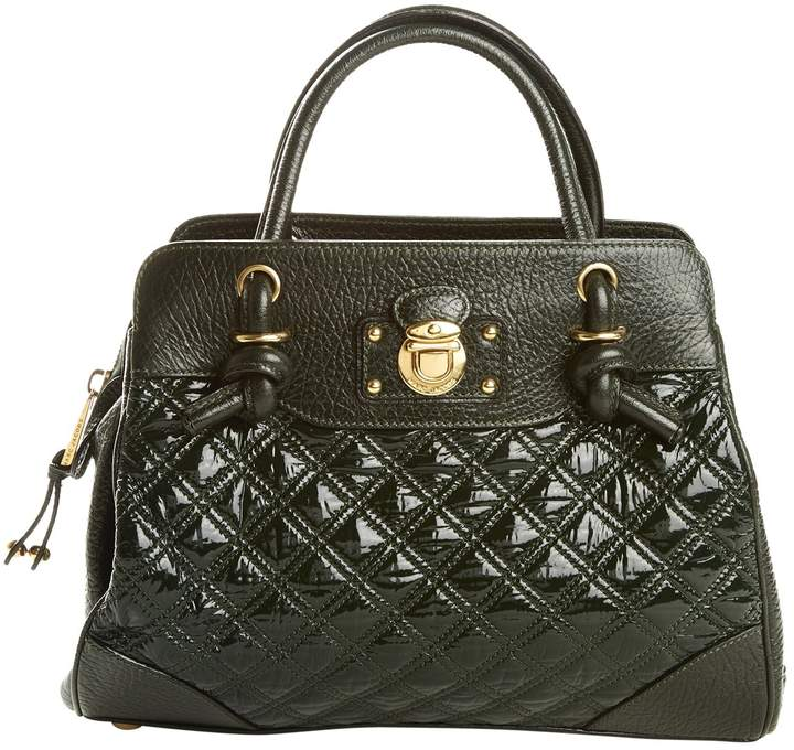 Marc Jacobs Saddlebag in patent leather