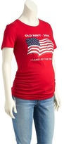 Old Navy Maternity 2016 Flag Tee