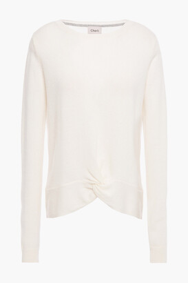 Charli Cassia Twisted Cashmere Sweater