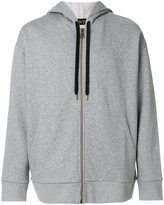 No.21 logo hoodie - men - Cotton - S