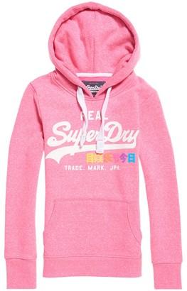 Superdry Slip-On Logo Print Hoodie