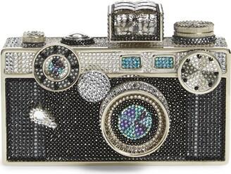 Judith Leiber Crystal Camera Minaudiere