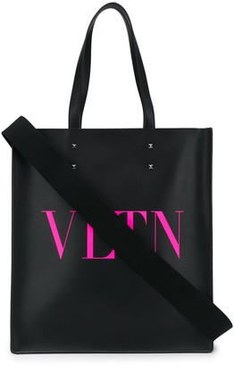 Valentino VLTN leather tote bag