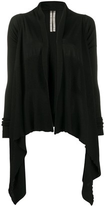Rick Owens Draped Waterfall Cardigan