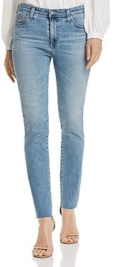 AG Jeans Mari High-Rise Ankle Jeans in 24 Years Stark