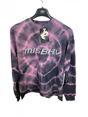 Misbhv Purple Cotton Tops